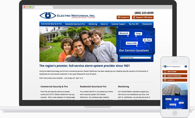 Electro Watchman Website