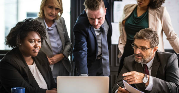 healthcare-marketing-agency-people-looking-at-laptop
